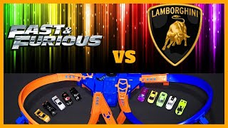 LAMBORGHINI vs FAST & FURIOUS CRASH TOURNAMENT !!!