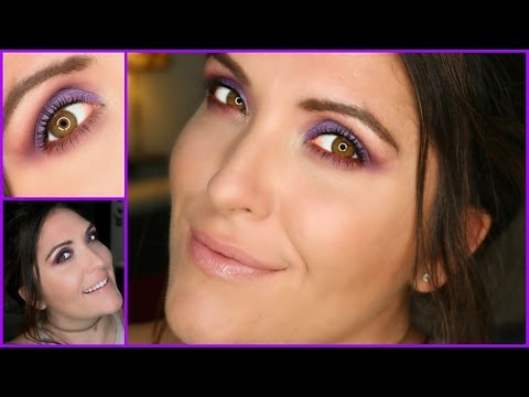 Easy Purple Smokey Eye | Whole Lotta Rosie