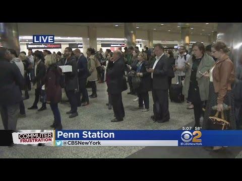Rail Delays Loom As Amtrak Plans Track Repairs  At Penn Station
