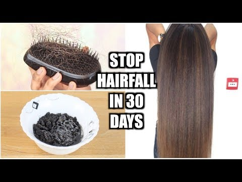 how to STOP hair fall NATURALLY in 30 DAYS!