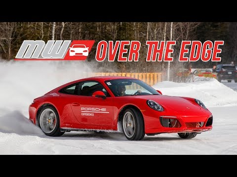 Over the Edge: Porsche Winter Driving