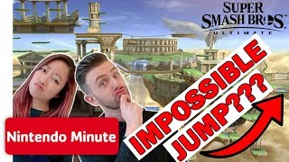 Super Smash Bros. Ultimate IMPOSSIBLE Jump Challenge w/ the Wheel of Fate | Nintendo Minute