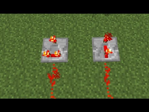 How to Make a RedStone Comparator in MineCraft 1.5