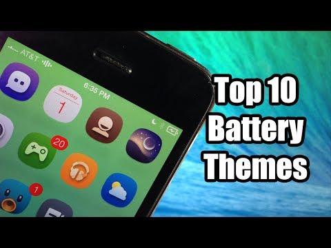 Top 10 Best Battery Themes - FREE - iOS 7 Jailbreak
