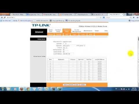 Tutorial NAT port tp link