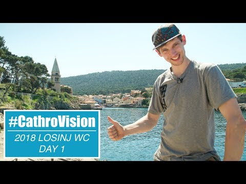 #CATHROVISION // Losinj World Cup Day 1 - Track Walk  *EDITED*