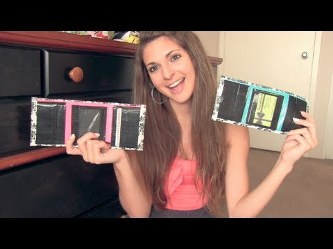 DIY DUCT TAPE WALLET : Trifold with Pockets & ID holder | SoCraftastic