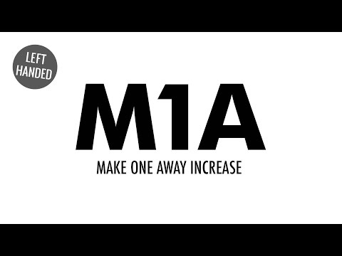 The Make One Away Increase (M1A) :: Knitting Increase :: Left Handed