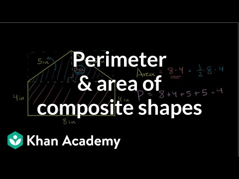 Perimeter and area of a non-standard polygon | Perimeter, area, and volume | Geometry | Khan Academy