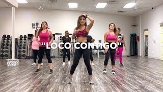 "DJ SNAKE JBALVIN TYGA - ""LOCO CONTIGO"" DANCE FITNESS"