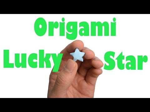 How to Fold the Origami Lucky Star! | Happy New Year