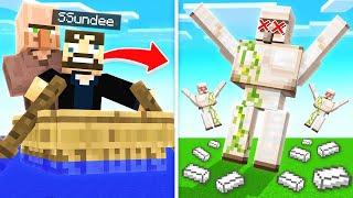 UNLIMITED IRON FARM (Minecraft)