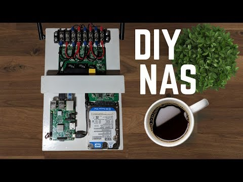 DIY NAS/PLEX Media Server Raspberry PI Build Log DIY Computer Case