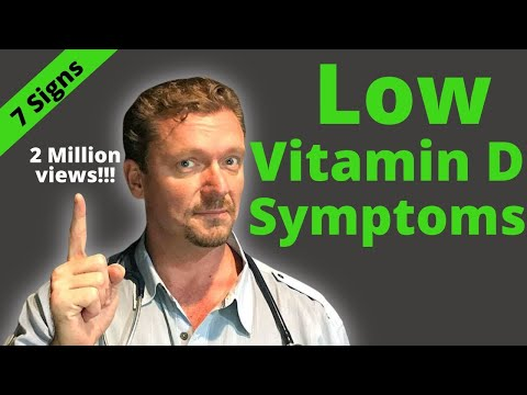 7 Signs of Low Vitamin D (How Many do You Know?)