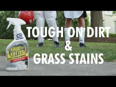 Quickly Remove Sports Stains with Krud Kutter® Sports Stain Remover