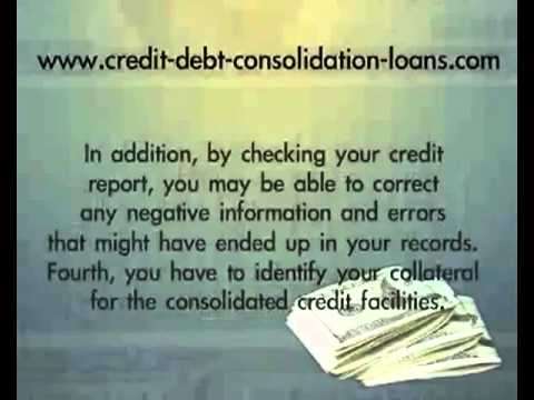 How To Qualify For A Debt Consolidation Loan