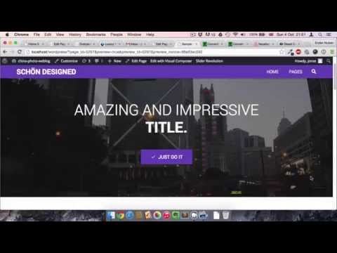 Video Background in Wordpress with Visual Composer