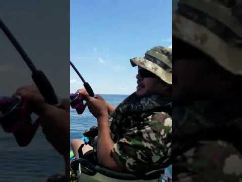 Fishing at Padre Island National Seashore