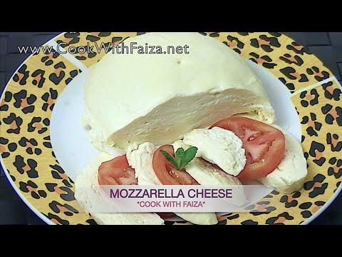 MOZZARELLA CHEESE (Pizza Cheese) *COOK WITH FAIZA*