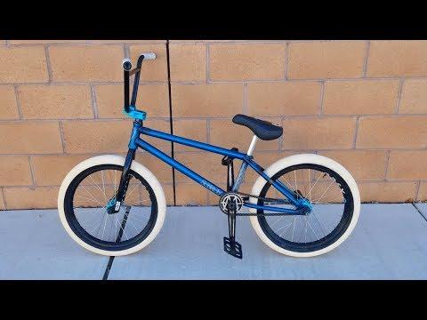 BUILDING MY NEW BMX BIKE