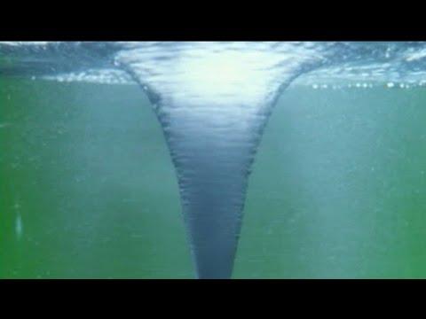 Homemade water tornado