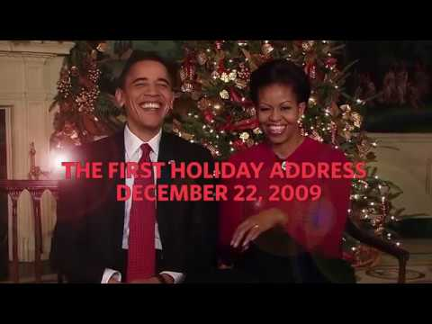 Outtakes From Obama's First Christmas Greeting