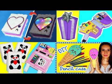 66 Diy School Supplies Easy Diy Paper Crafts Ideas