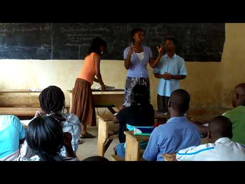 Training local youth for STD and HIV/AID prevention