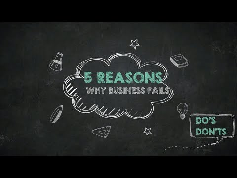 5 REASONS WHY ECOMMERCE BUSINESS FAIL OR ANY BUSINESS FAILS