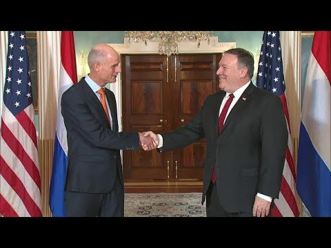 Secretary Pompeo Meets with Dutch Foreign Minister Blok