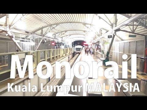 MALAYSIA Kuala Lumpur #14 [Walk] KL Sentral to Monorail Station