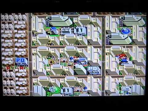 Sim City Super Nintendo SNES - 600,000+ Population - Legit - No Stacking