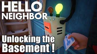 Hello Neighbor Alpha 2 Basement ENDING Unlocked! (Gameplay / Playthrough)