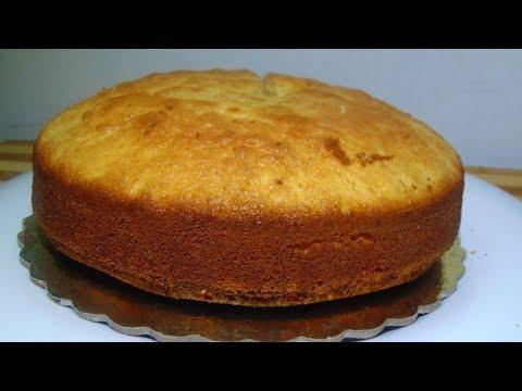 Sponge Cake without Oven || Basic Plain & Soft Sponge cake || How To Make Cotton Soft Sponge Cake