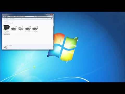 Changing Printer Settings from USB to TCP IP on Windows 7