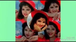 Tujhe na dekhu toh chain mujhe aata  nahi ha   song  is divya bharti
