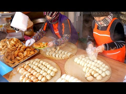 KOREAN STREET FOOD - Namdaemun Market Street Food Tour in SEOUL, SOUTH KOREA
