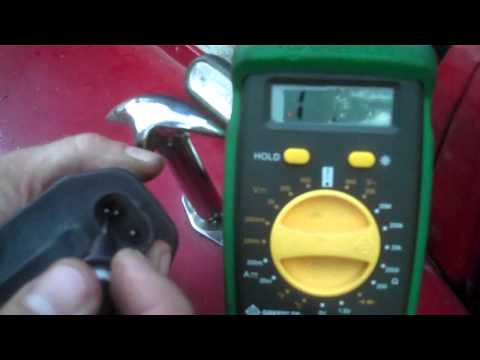 Jeep Wrangler YJ - Testing the ignition coil and spark demo