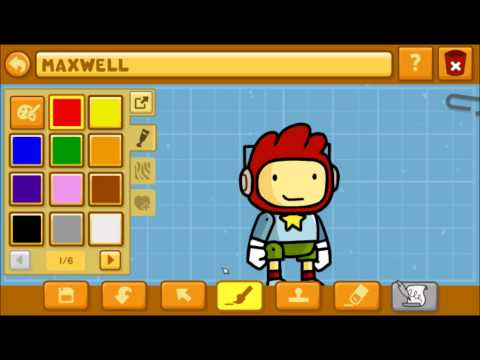 Let's Play Scribblenauts Unlimited Episode 1: Character Creation