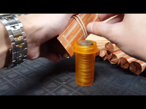 How to roll quarters very fast