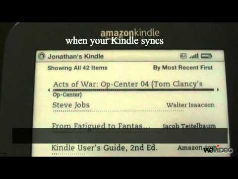 Tech Tip #7 Kindle - How to return a Kindle book when using library lending
