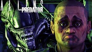 Aliens vs Predator - Encontrei o Predador, Uma Grande Surpresa! | Alien Campanha (#4/Final) (PT-BR)