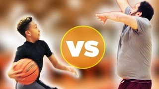 Kid Basketball Pro Vs. Adults