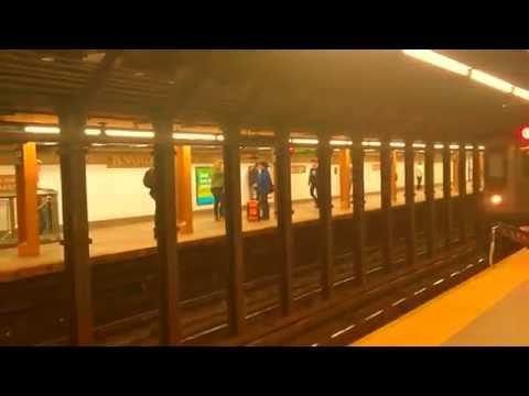 Flatbush ave bound 2 train r142 arriving at 34th street penn station 🚉