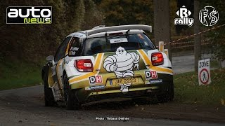 Condroz Rally 2016 - OnBoard LEFEBVRE-PORTIER/DS 3 R5 - ES 10 Villers-le-Bouillet by B-rally & FSV