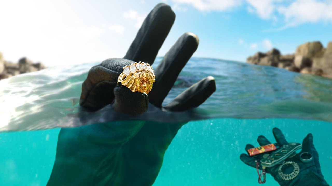 How Much Jewelry Is Lost Underwater at this Busy Texas Lake Cliff?