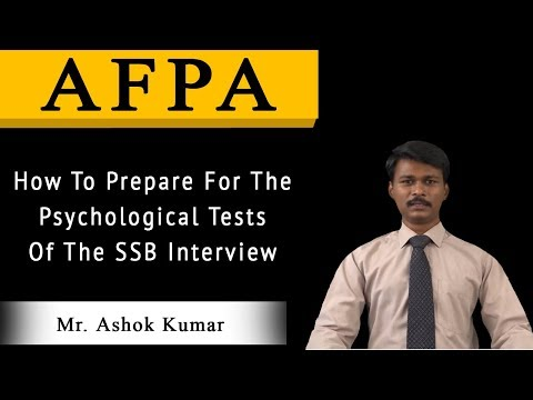 How to Prepare for the Psychological Test of the SSB Interview | Must Watch!