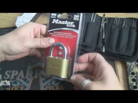 Master Lock No. 175 Bypassed out of the box