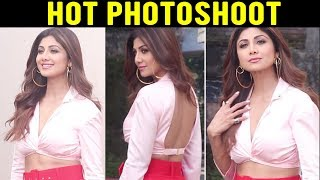 Shilpa Shetty Looks HOT As Hell During A Shoot, Fun Interaction With Photographers | Mehboob Studio