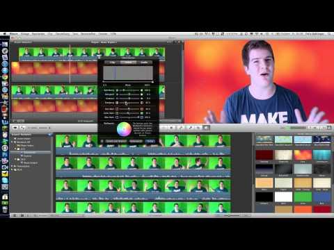 Greenscreen in iMovie Tutorial - felixba94